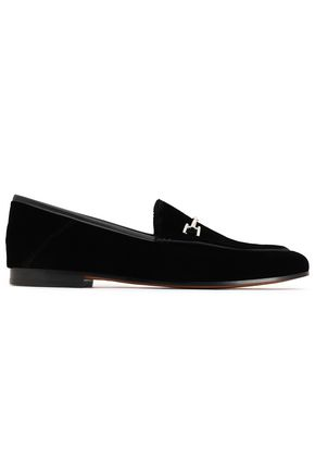 SAM EDELMAN Velvet loafers