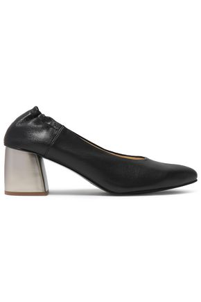 JIL SANDER NAVY Leather pumps