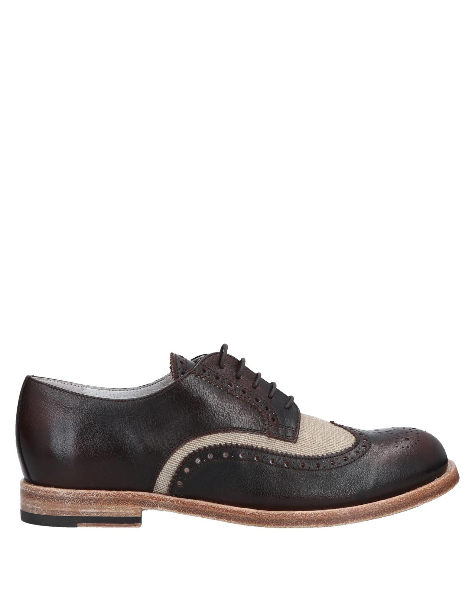 ELISABETTA NERI Обувь на шнурках цены онлайн