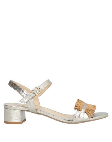 Купить Женские сандали MALLY золотистого цвета