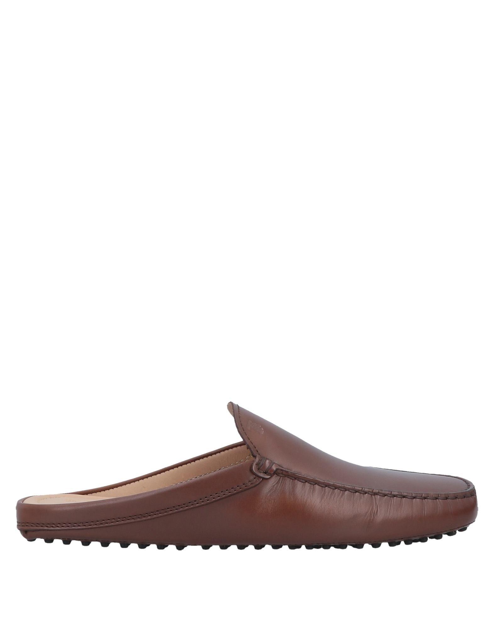 TOD'S Домашние туфли цены онлайн