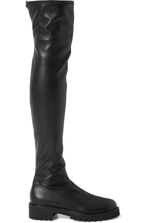 GIUSEPPE ZANOTTI Stretch-leather over-the-knee boots