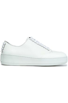 McQ Alexander McQueen Netil leather platform sneakers