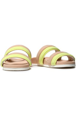 JOSHUA*S Two-tone neoprene slides