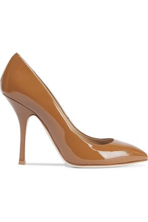 GIUSEPPE ZANOTTI Dirty patent-leather pumps
