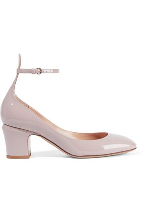 VALENTINO GARAVANI Tango patent-leather Mary Jane pumps