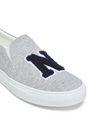 JOSHUA*S Appliquéd jersey slip-on sneakers