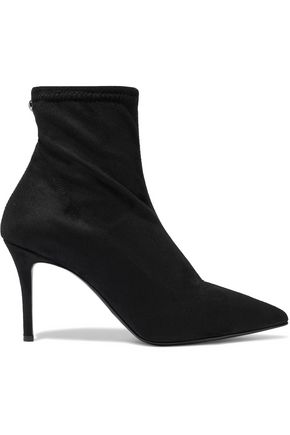 Stretch Suede Ankle Boots by Giuseppe Zanotti