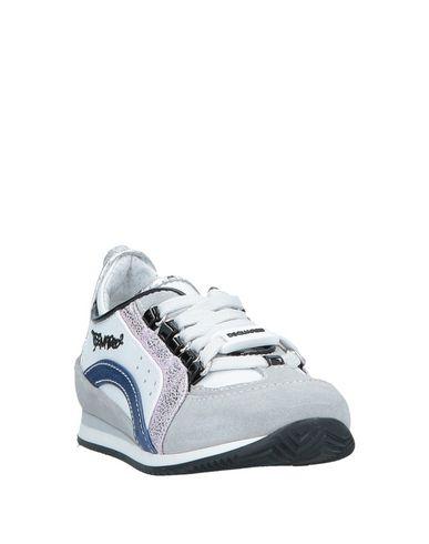 Фото 2 - Низкие кеды и кроссовки серого цвета