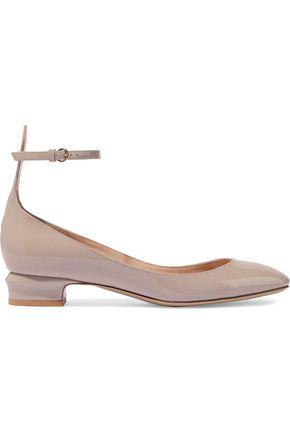 VALENTINO GARAVANI Tango patent-leather ballet flats