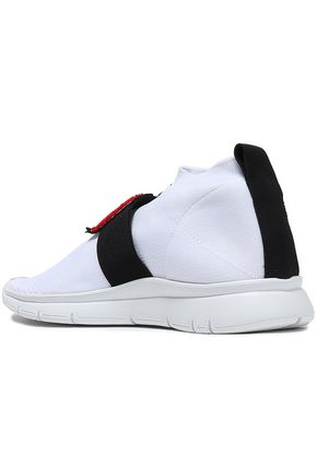 JOSHUA*S Stretch-knit high-top sneakers