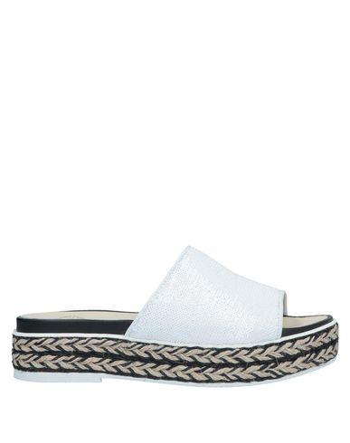 Фото - Женские сандали ESPADRILLES белого цвета