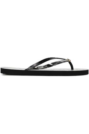 TORY BURCH Printed rubber sandals