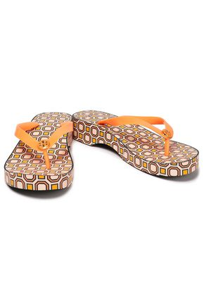 TORY BURCH Rubber platform sandals