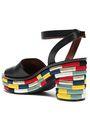 TORY BURCH Leather platform sandals