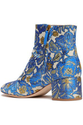 TORY BURCH Brocade ankle boots