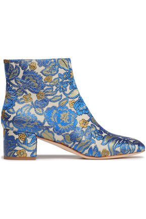 39513285a TORY BURCH Brocade ankle boots