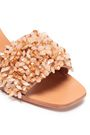 TORY BURCH Embellished satin mules