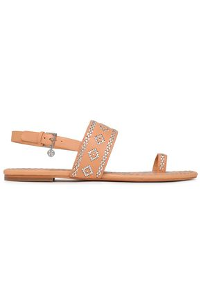 5b9bb7e62 TORY BURCH Embroidered leather sandals