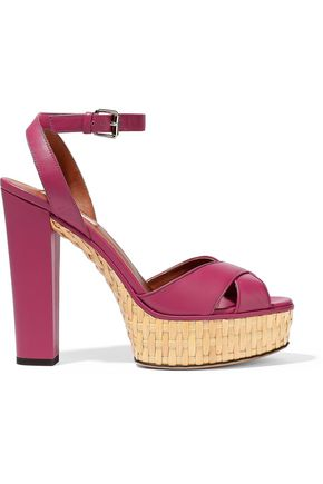 VALENTINO | Valentino Garavani Leather Sandals | Goxip