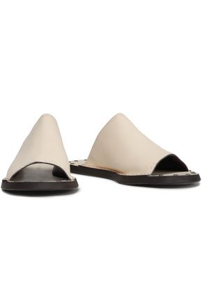 a905f26a82c1 SEE BY CHLOÉ Leather slides