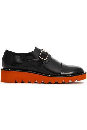 STELLA McCARTNEY Bristol studded faux leather loafers