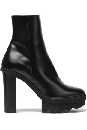 Faux Leather Platform Ankle Boots by Stella Mc Cartney