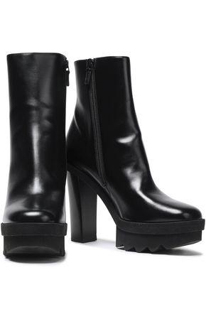 2c76771b4540 STELLA McCARTNEY Faux leather platform ankle boots