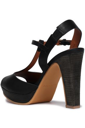 SEE BY CHLOÉ Alex leather platform sandals