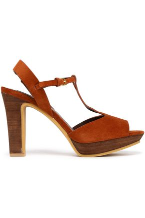 SEE BY CHLOÉ Alex suede platform sandals
