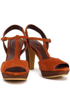 SEE BY CHLOÉ Alex suede platform sandals