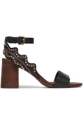 SEE BY CHLOÉ Embellished faux leather sandals