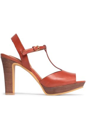 SEE BY CHLOÉ Leather platform sandals