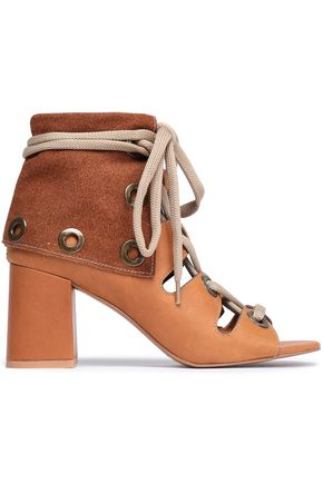 SEE BY CHLOÉ Selma lace-up leather sandals
