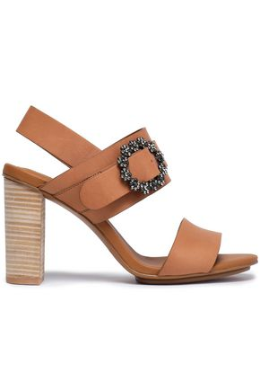 SEE BY CHLOÉ Embellished leather sandals