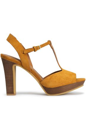 SEE BY CHLOÉ Suede platform sandals