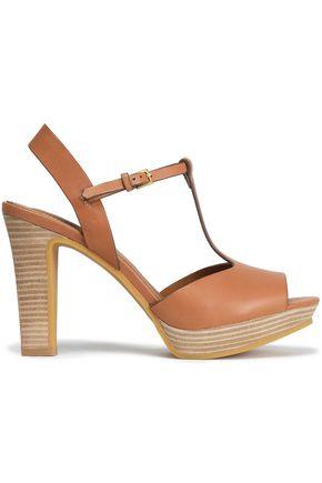 7ef8079b3c82 SEE BY CHLOÉ Leather platform sandals