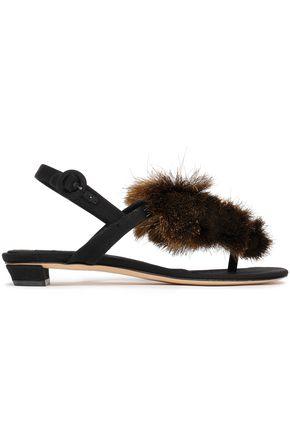 SANAYI 313 Appliquéd woven sandals