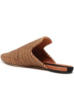 SANAYI 313 Raffia slippers