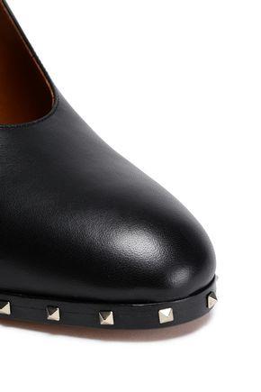 VALENTINO GARAVANI Leather Mary Jane pumps