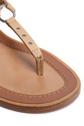 VALENTINO GARAVANI Embellished leather sandals