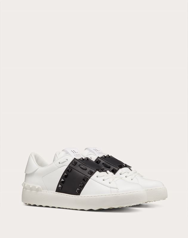 Rockstud Untitled Sneaker with Tonal Studs
