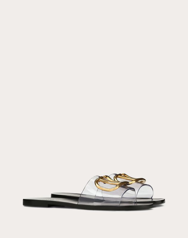 Slide Sandal with VLOGO Detail