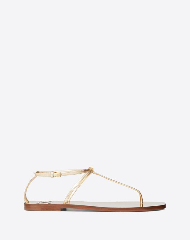 VLOGO Flip Flop Sandal with Stud Detail 5 mm