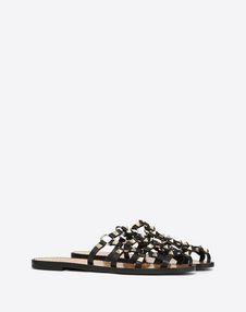 Lattice Slide Sandal