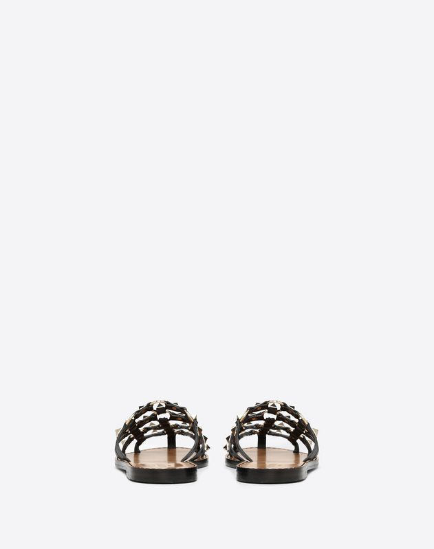 Lattice Slide Sandal