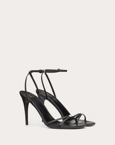 VLOGO Thin Strap Laminated Nappa Sandal 100mm
