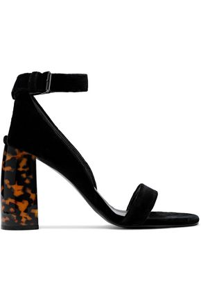STELLA McCARTNEY Velvet sandals