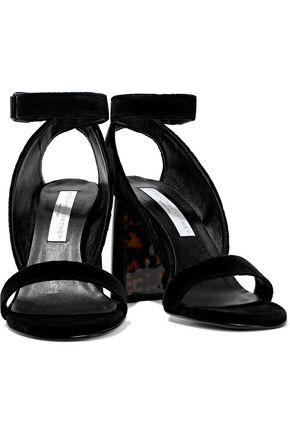 STELLA McCARTNEY Velvet sandals