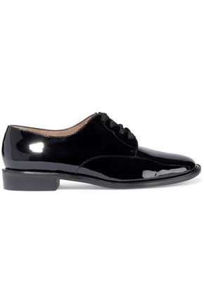 ROBERT CLERGERIE Jasdam patent-leather brogues